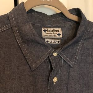 Lucky Chambray Button Down Shirt